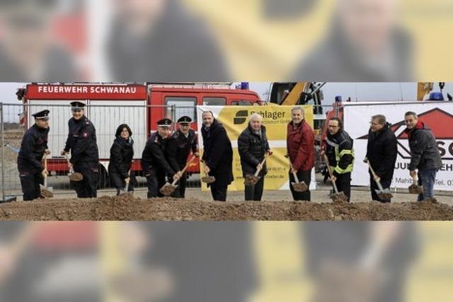 Der Bau des neuen Feuerwehrhauses hat begonnen