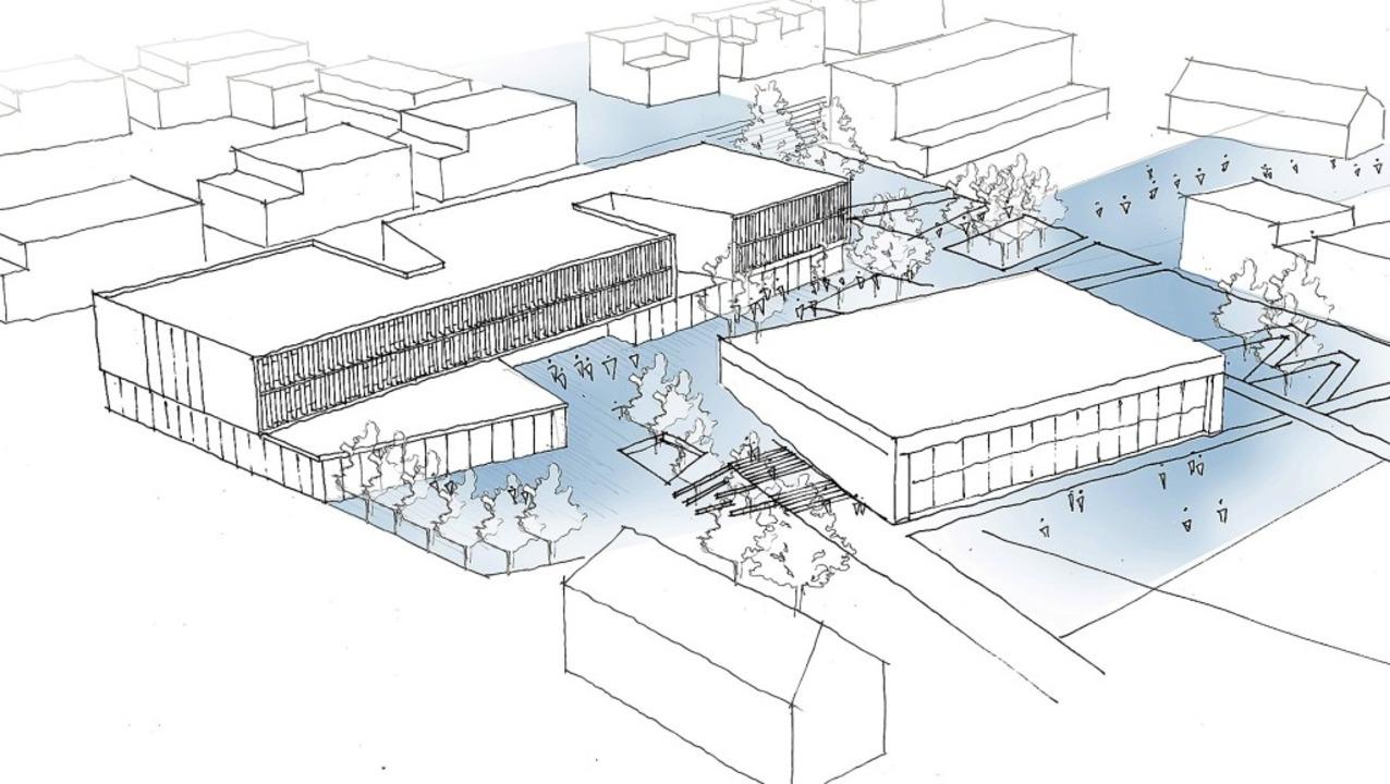Lange wurde über den Neubau der Donaue...diese Pläne als die besten ausgewählt.  | Foto:  Stadtverwaltung