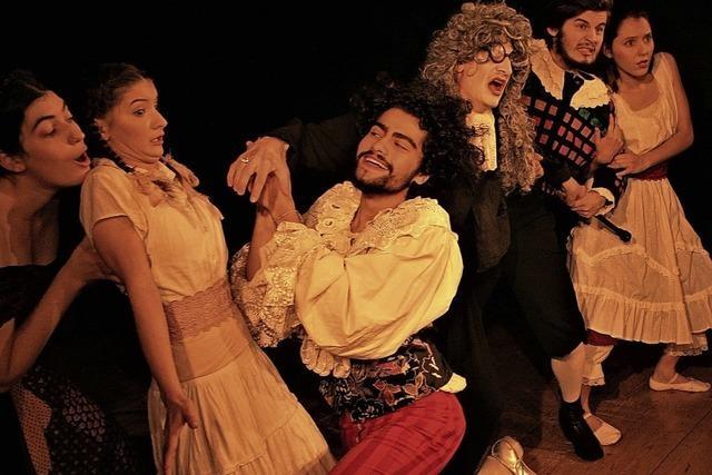 Theater mit Livemusik: Molières
