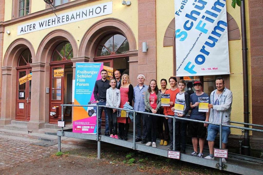 Gewinner des Freiburger Schüler Film Forum 2019  | Foto: RVF