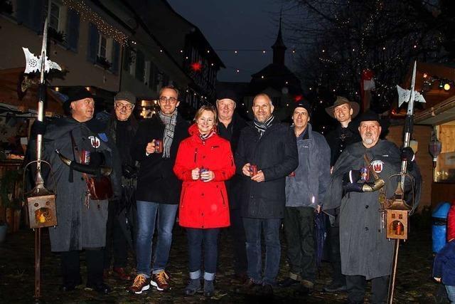 26. Vogtsburger Weihnachtsmarkt in der Burkheimer Mittelstadt