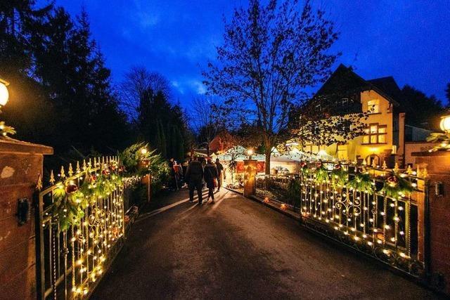 Der Weihnachtsmarkt auf der Dammenmühle stand auf der Kippe