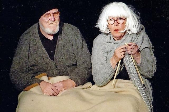 Yvette Kolb und Jürgen von Tomei im TAM in Weil am Rhein mit