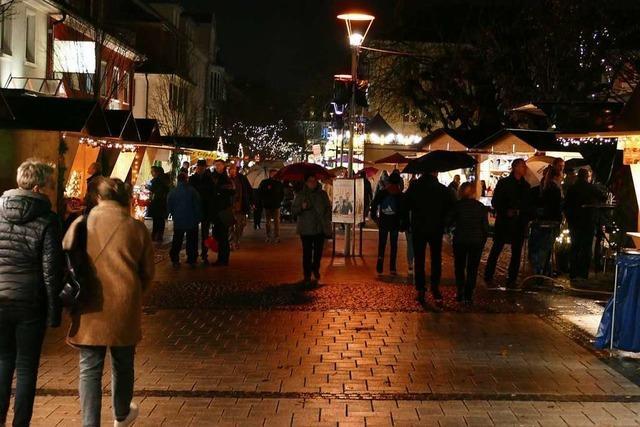 Der Weihnachtsmarkt in Rheinfelden ist eröffnet