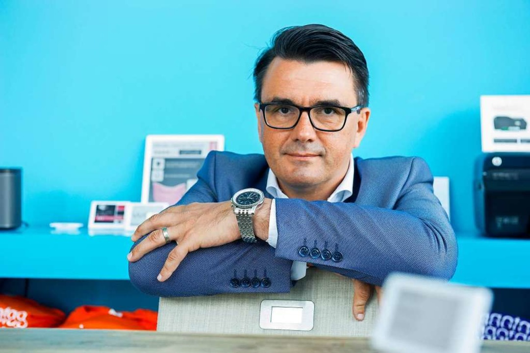 Unternehmer Michael Unmüßig  | Foto: Daniel Schoenen