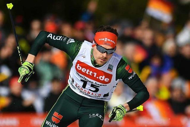 Nur Fabian Rießle und Manuel Faißt überzeugen beim Weltcup-Start