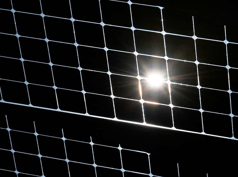Aus Sonne wird Strom.  | Foto: Patrick Seeger