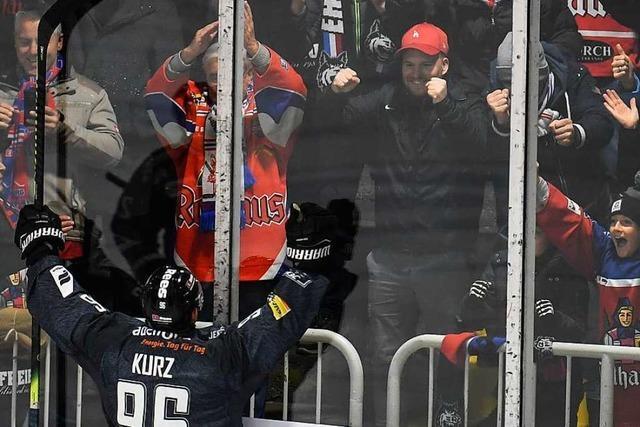 EHC Freiburg besiegt Landshut nach souveräner Leistung mit 5:0