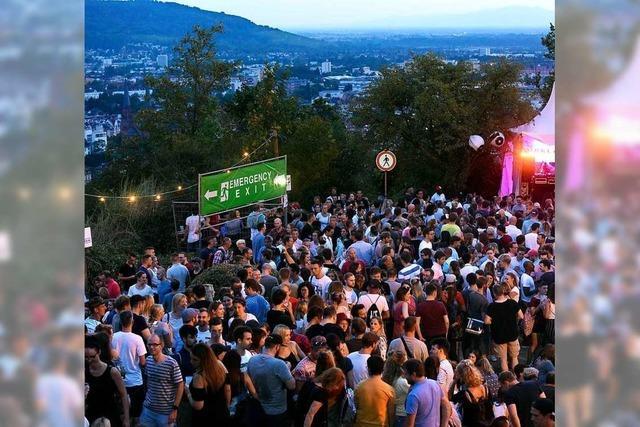 Das Freiburger Schlossbergfest findet 2020 wieder statt