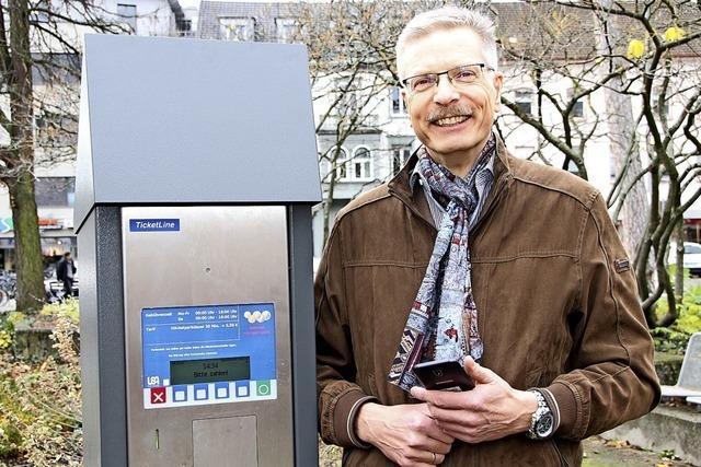Parken per App wird in Bad Säckingen billiger
