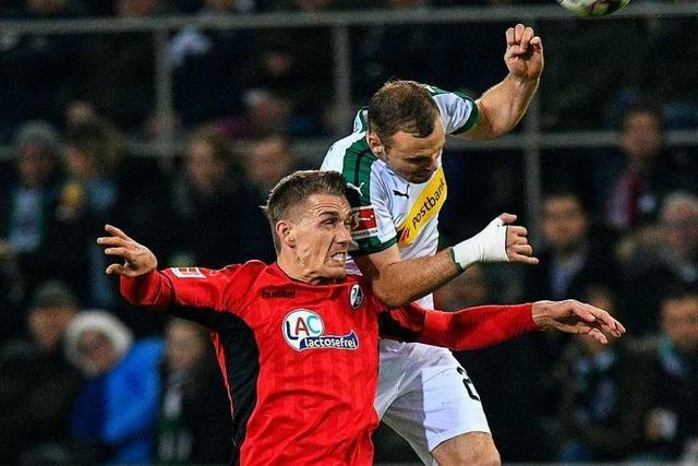 SC Freiburg in Mönchengladbach: Streich fordert besseres Zweikampfverhalten