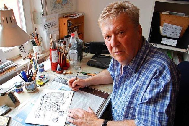 BZ-Karikaturist Horst Haitzinger geht in den Ruhestand