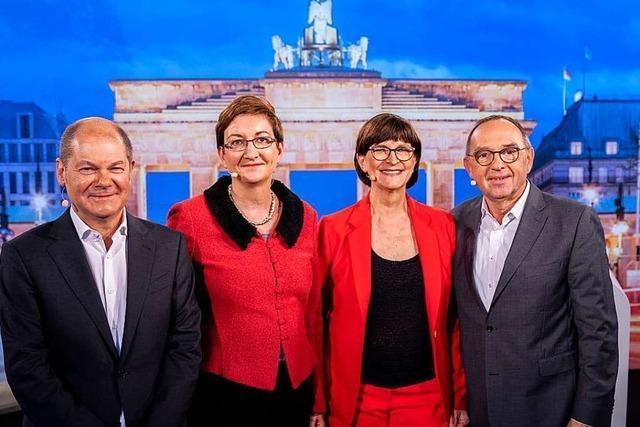 Die SPD vor der Führungsentscheidung