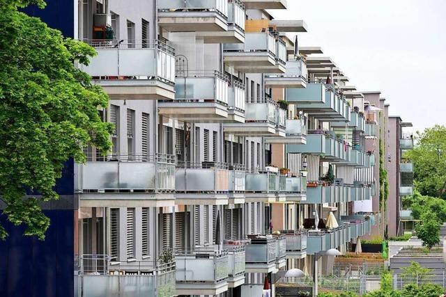 Freiburger geben fast die Hälfte ihres Lohns für Miete aus