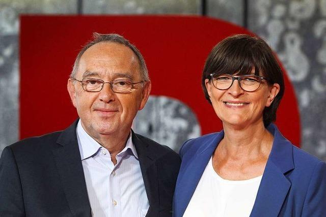 GroKo-Kritiker Walter-Borjans und Esken sollen SPD aus Krise führen