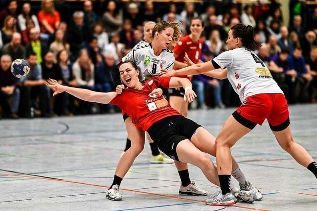 HSG Freiburg hält sich wacker gegen den Aufstiegsanwärter Halle