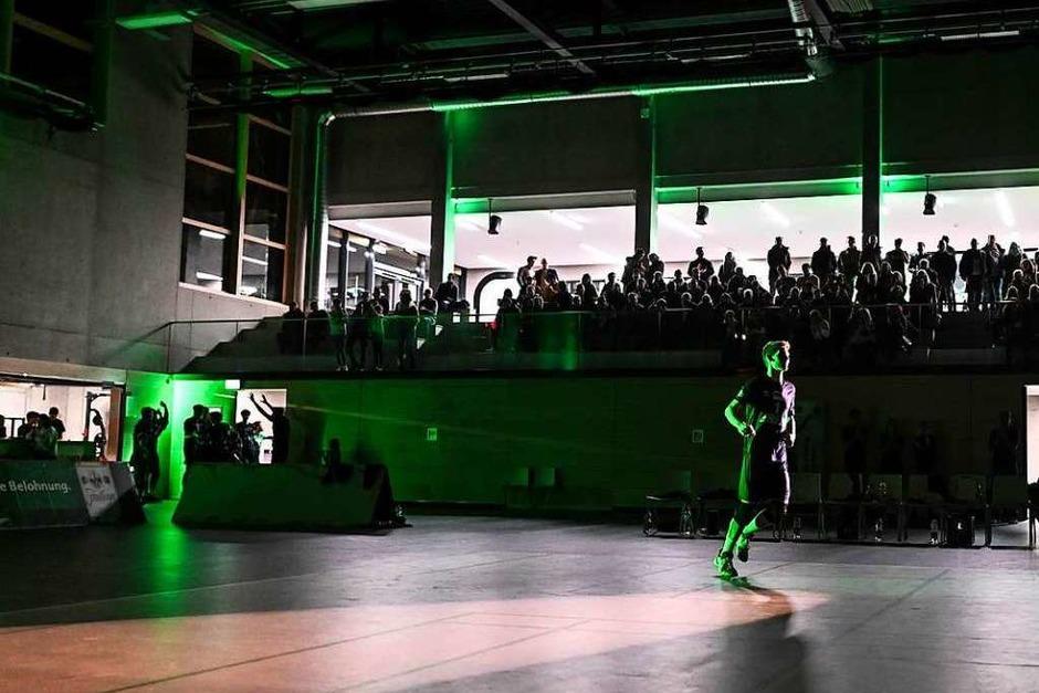 Impressionen aus der neuen Sporthalle der FT 1844 Freiburg (Foto: Patrick Seeger)