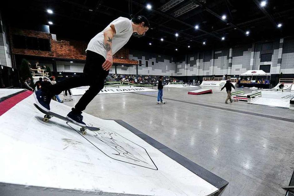 Die deutschen Meisterinnen und Meister im Skater wurde am Samstag und Sonntag im Europa-Park in Rust ermittelt.<?ZP?> (Foto: Pressebüro Schaller)