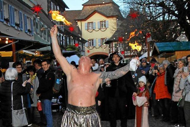 Tausende Besucher kommen zum 26. Vogtsburger Weihnachtsmarkt