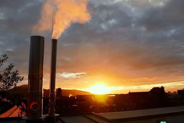 Sonnenuntergang auf der Skajo-Terrasse
