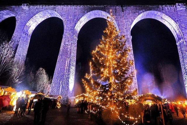 Fotos: Das Viadukt in der Ravennaschlucht steht wieder im Rampenlicht