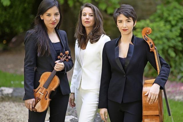 Trio Sõra in Müllheim