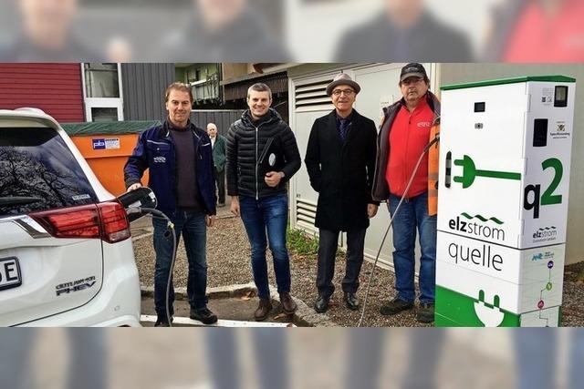 Beitrag für mehr E-Mobilität in Elzach