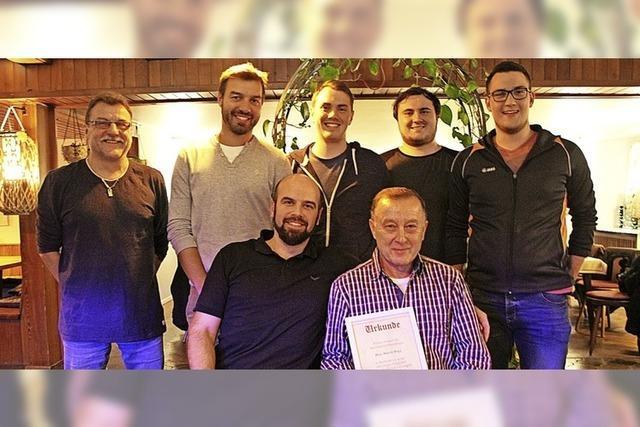 SV Schwaningen ehrt zwei Gründungsmitglieder