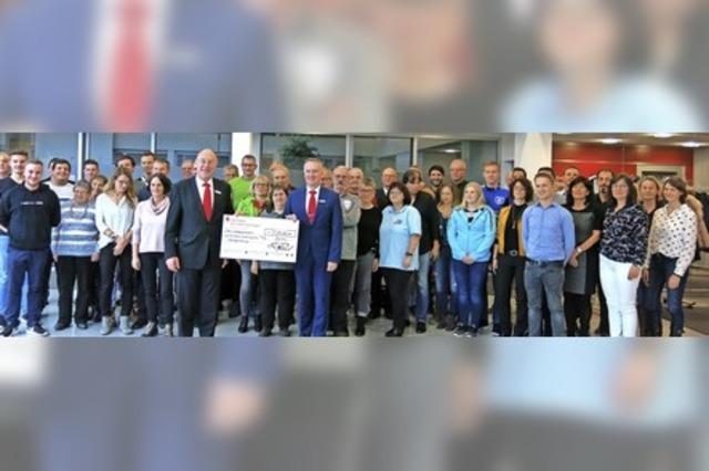 33 281 Euro für das Ehrenamt