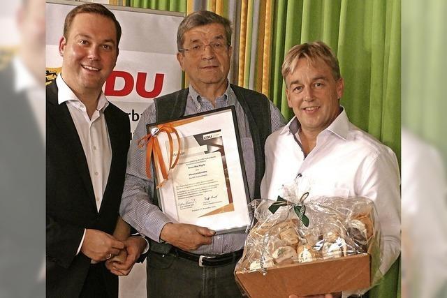 Ingo Bauer ist neuer Vorsitzender des CDU-Stadtverbands