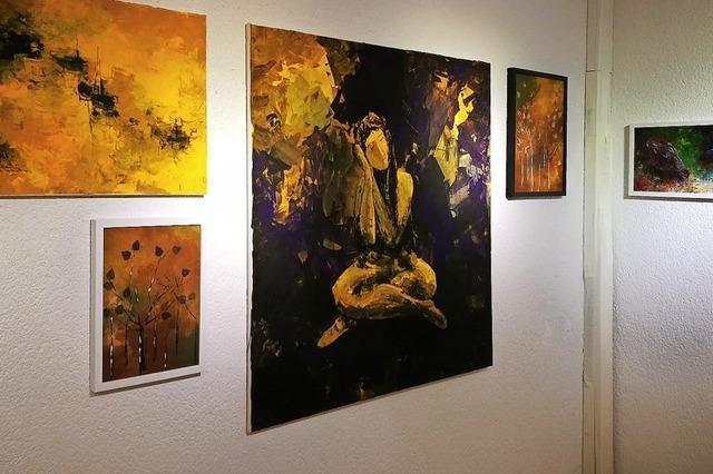 Acrylkunst von Ina Krotz in der Galerie Fritz'