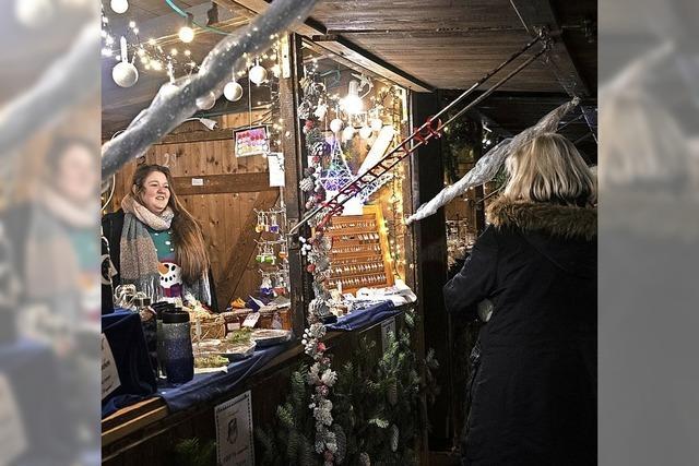 Neuenburger Weihnachtsmarkt ist eröffnet