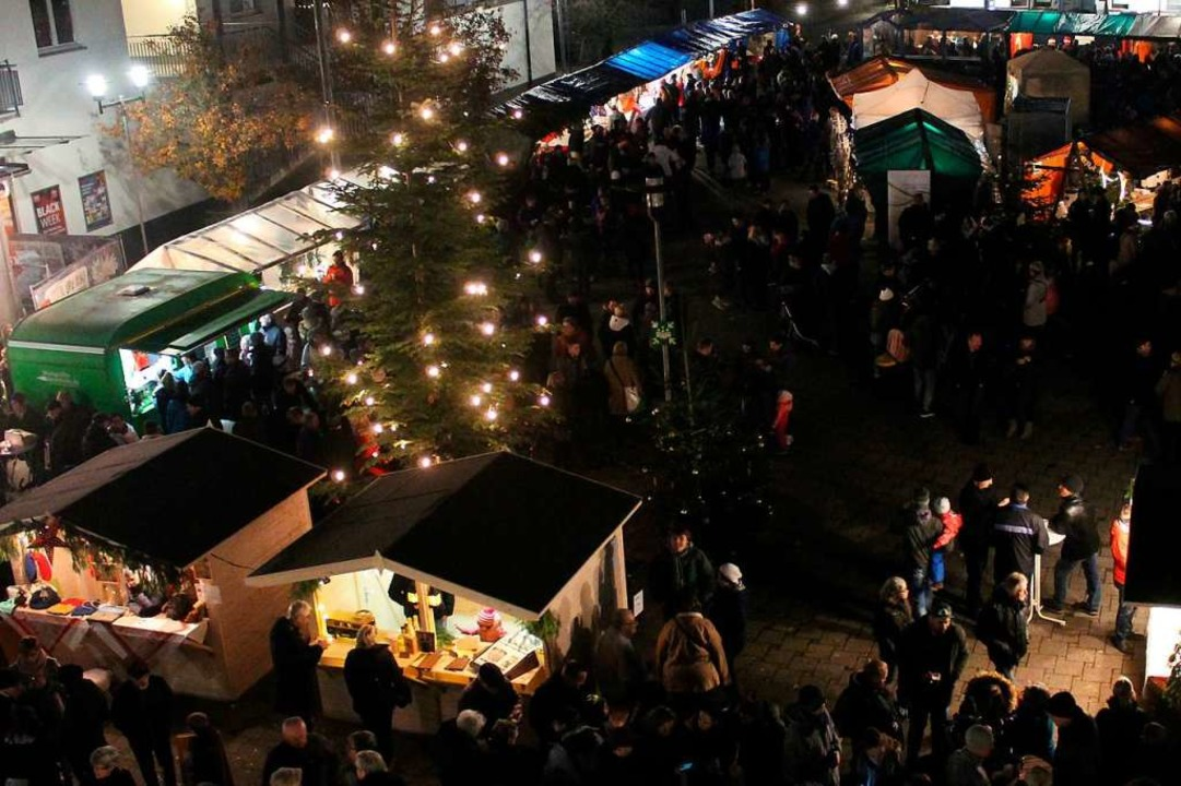 Impressionen vom Weihnachtsmarkt in Efringen-Kirchen  | Foto: Reinhard Cremer