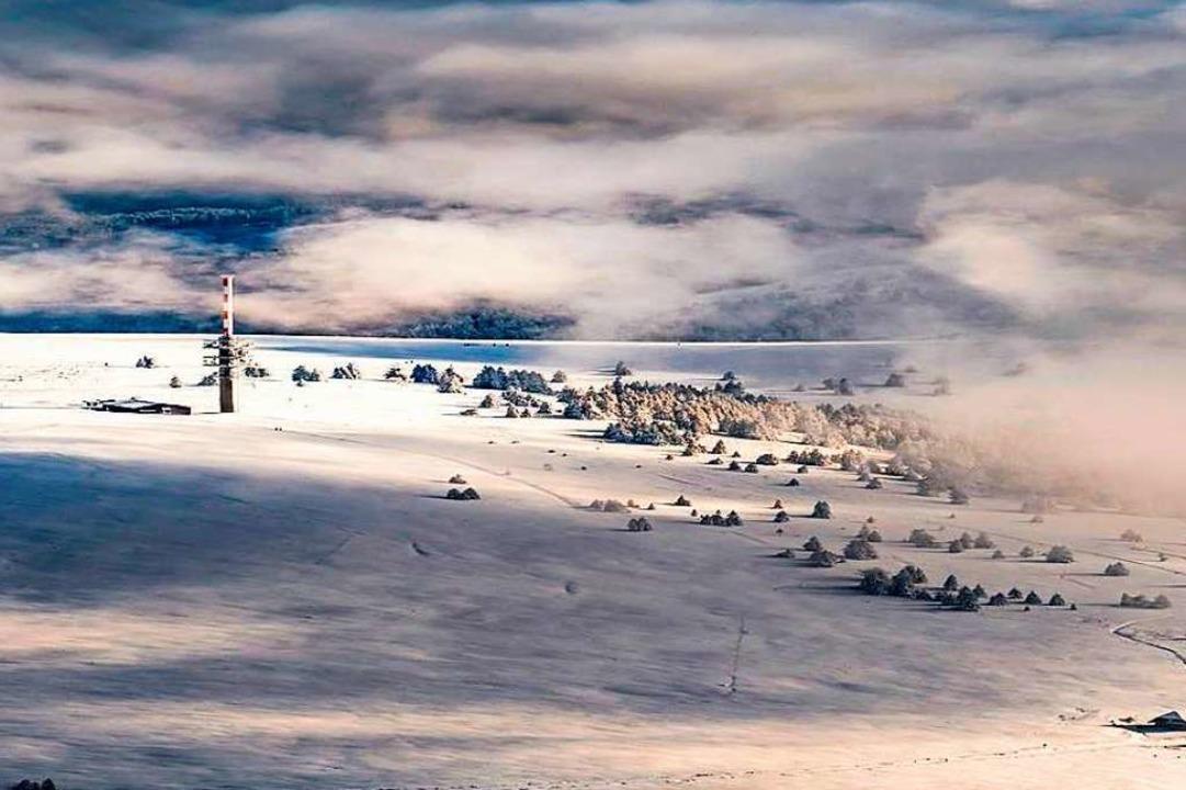 Der schneebedeckte Feldberg.  | Foto: Martin Bildstein