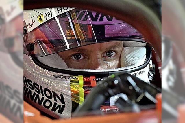 Viel Frust bei Vettel