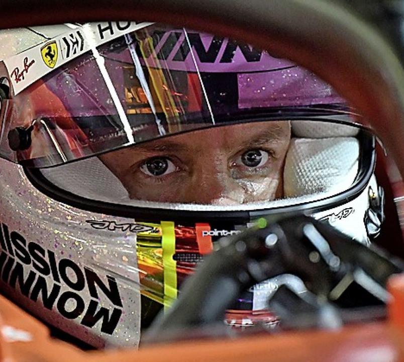 Sebastian Vettel  | Foto: ANDREJ ISAKOVIC (AFP)