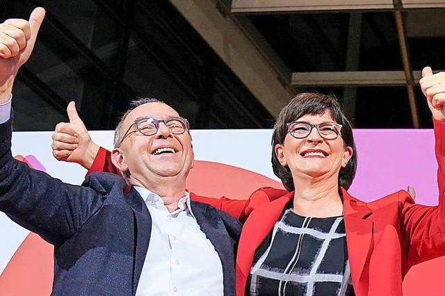 SPD-Basis bringt Koalition ins Wanken