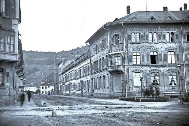 Als in Freiburg neue Häuser mit amerikanischer Schnelligkeit emporwuchsen