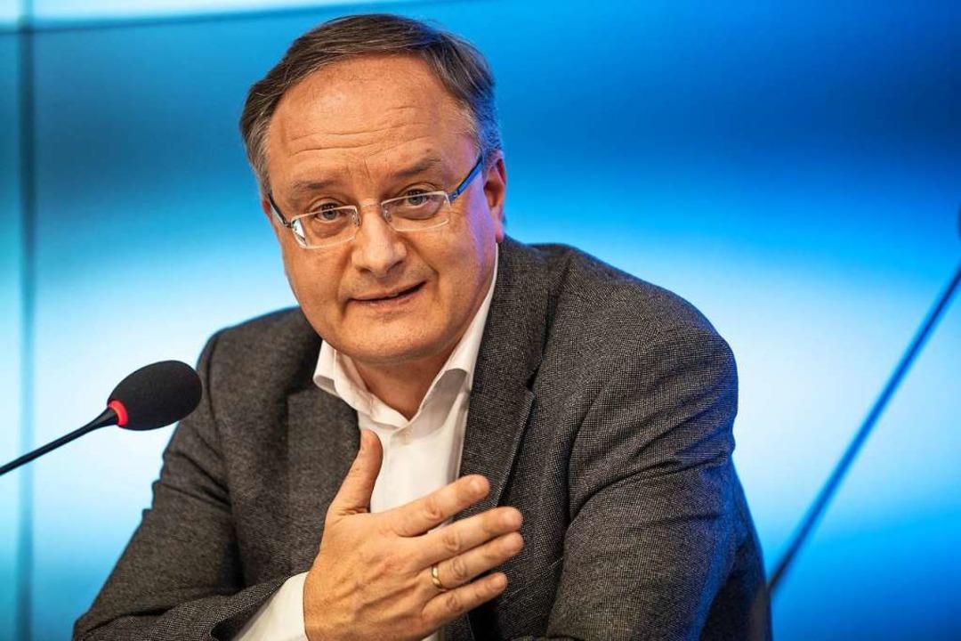 SPD-Landeschef Andreas Stoch  | Foto: Fabian Sommer