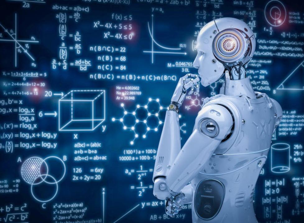 So könnte das mal aussehen, wenn ein Roboter über ein Mathe-Problem nachdenkt.  | Foto: phonlamaiphoto  (stock.adobe.com)