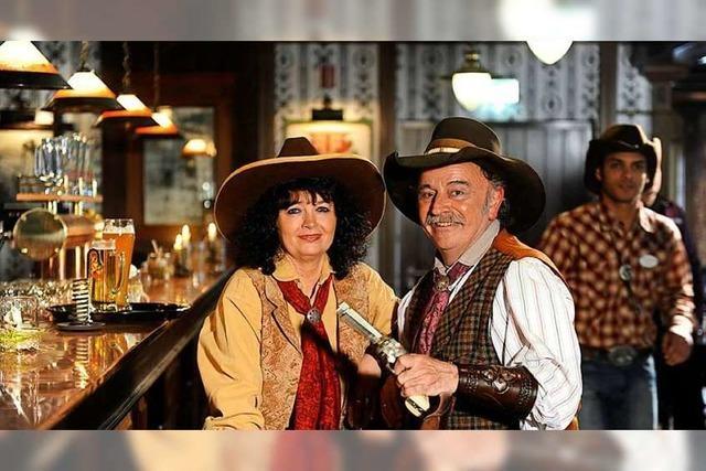 Silvester feiern wie im Wilden Westen im Silver Lake Saloon