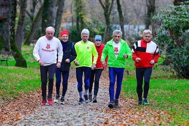 In der FFC-Laufgruppe gehen auch Über-80-Jährige auf die Strecke