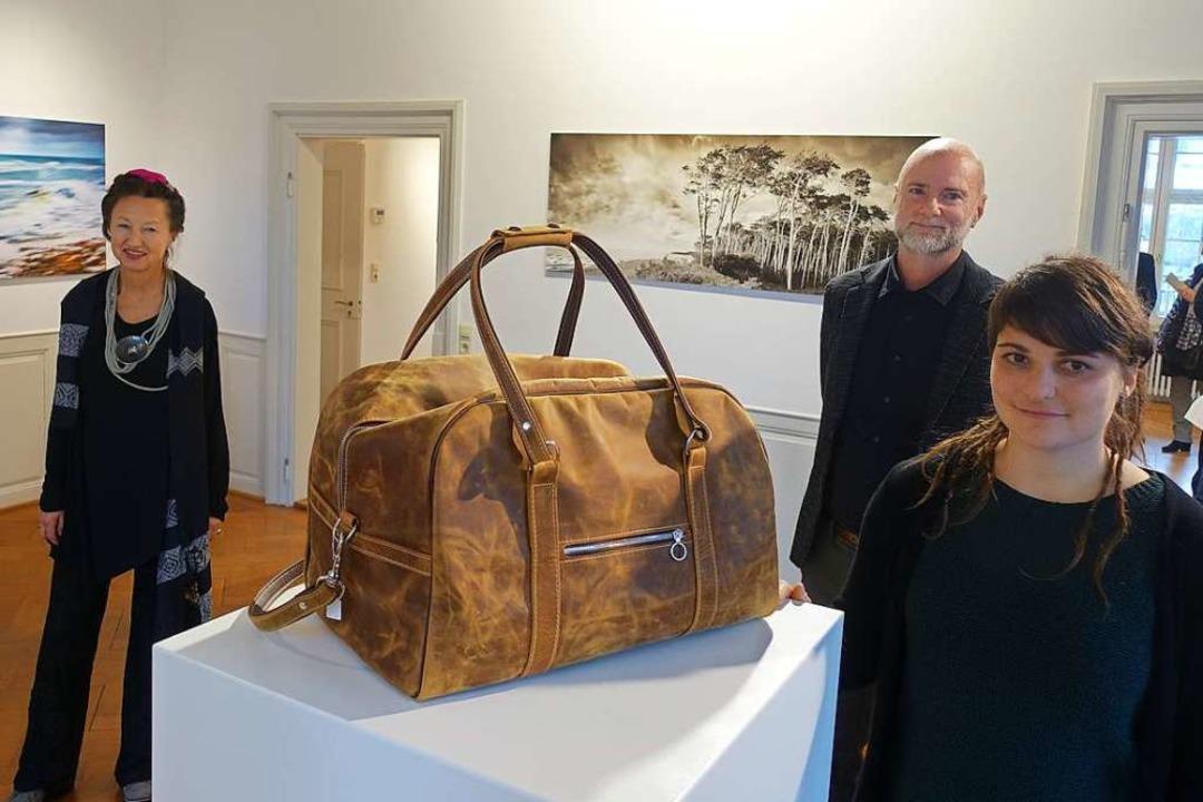 Drei Stile, drei Techniken: Die Goldsc...eihnachtsausstellung im  Haus Salmegg.  | Foto: Roswitha Frey