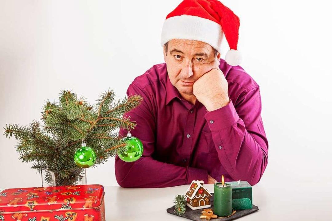 Alleine am Weihnachtsbaum und einsam? ...BZ-Aktion Weihnachtswunsch verhindern.  | Foto: Edler von Rabenstein - Fotolia