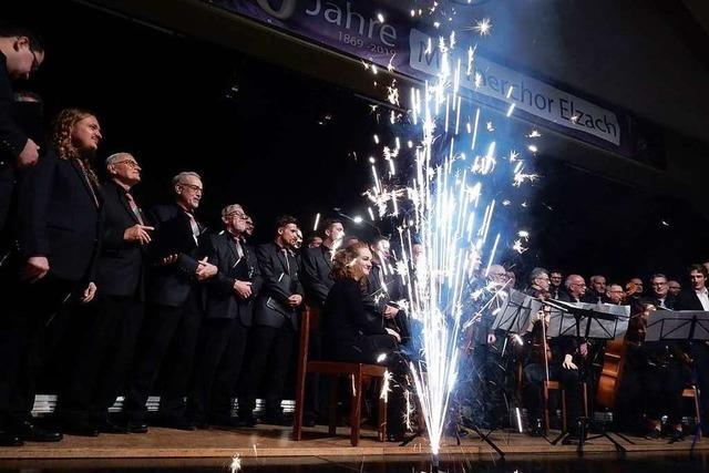 Ein Sahnehäubchen als Schlussakkord: Konzert mit Vocapella