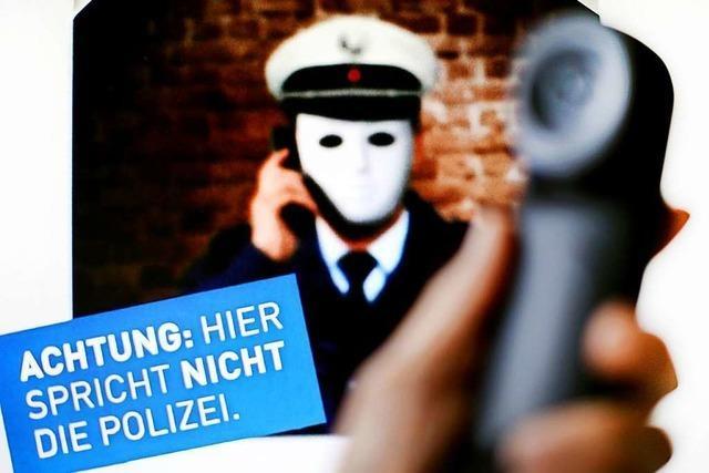 Falscher Polizist blitzt am Telefon ab