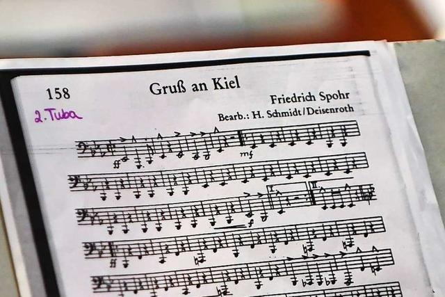 Warum die Lenzkircher Stadtmusik bei ihrem Jahreskonzert verrät, wie die Fische klingen