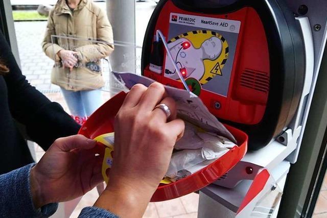 Schwörstadt hat nun einen öffentlichen Defibrillator
