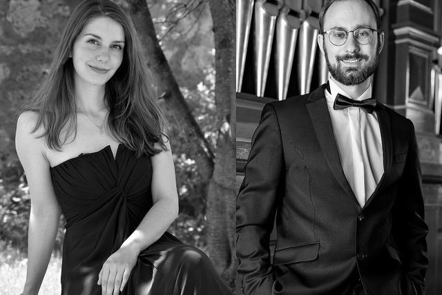 Sopranistin Julia Hinger und Organist Dominic Cerrito konzertieren in Wehr