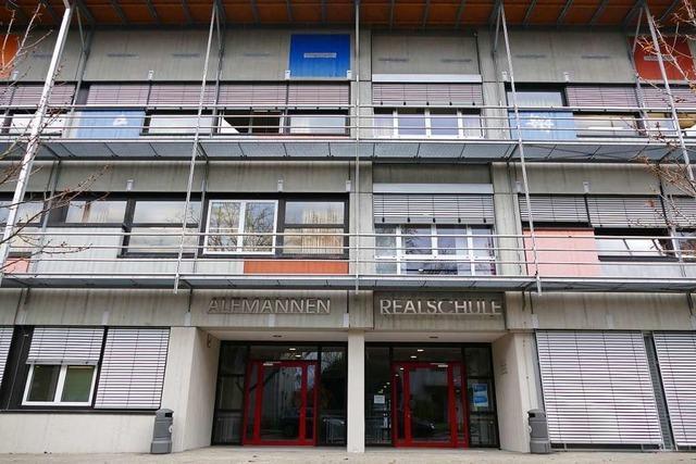 Sanierung der Realschule in Müllheim wird